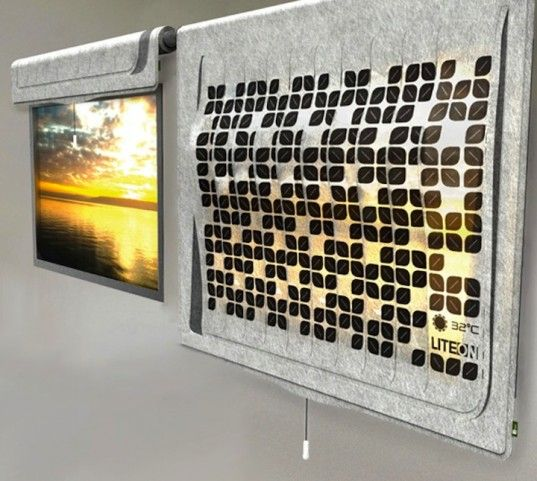 Lite-on, liteon, oled, solar cells, pv, e-ink, passive cooling, natural light, led, energy efficiency, renewable energy, solar, climate change, green design, green infrastructure, eco-shade, eco-lighting, Lim Wan Xuan, Tang Xueling Jane, eco-leaf, window shade, curtain, eco-interior, climate control, interior design, flexible technology, display screen, solar screen, ambient light, backlit, energy loss, energy recovery, harvest energy, recycled energy