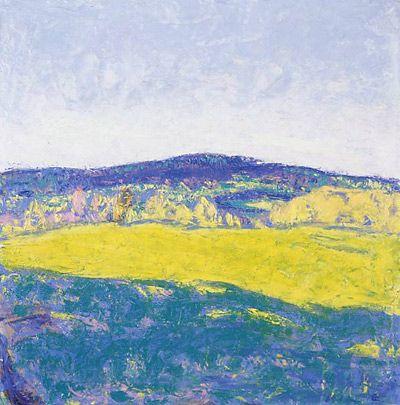 Ellen Thesleff, Juhannus, 1912. Midsummer. Impressionism.