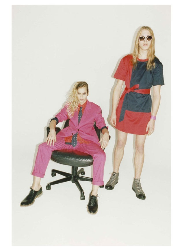 Alice Dellal & Erik Andersson for Marc by Marc Jacobs SS12: Erik Andersson, Springsumm 2012, Alice Dellal, Marc Jacobs, By Juergen Teller For Marc, Jacobs Springsumm, 2012 Observed, 2012 Campaigns, Fashion Campaigns