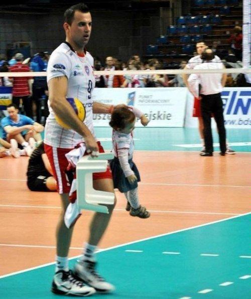 Dżordż #Grozer i jego dziecię :D #Resovia