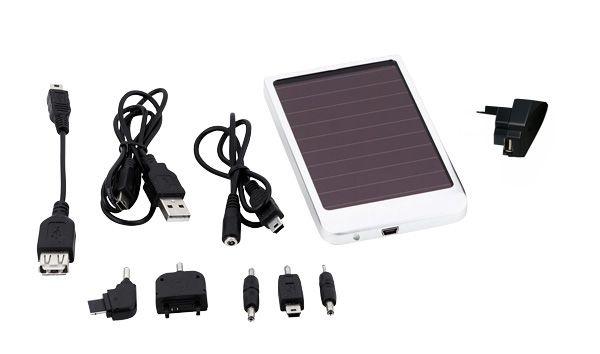 Milieuvriendelijke oplader voor mobiele telefoon of MP3-speler. Werkt op zonne-energie. Kijk voor meer info op: www.present4you.nl
