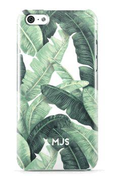 MInnie and Emma Banana Leaf iPhone case