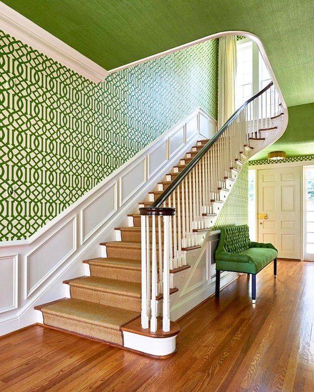 Entryway Wallpaper Ideas: 25+ Best Ideas About Foyer Wallpaper On Pinterest