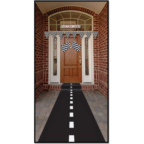 This racetrack runner can help to transform your room!     Racetrack Runner (poly w/double-stick tape) Party Accesso...