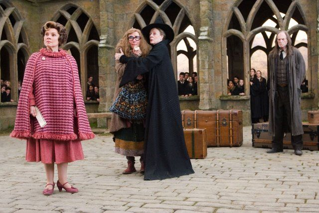 Still of Emma Thompson, Maggie Smith and Imelda Staunton in Harry Potter and the Order of the Phoenix
