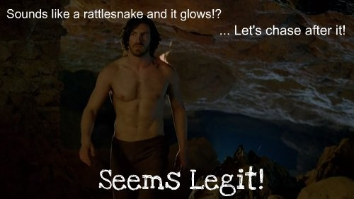 This episode was literally all about shirtless men, I'm not even joking. The only problem was that Merlin wasn't shirtless...