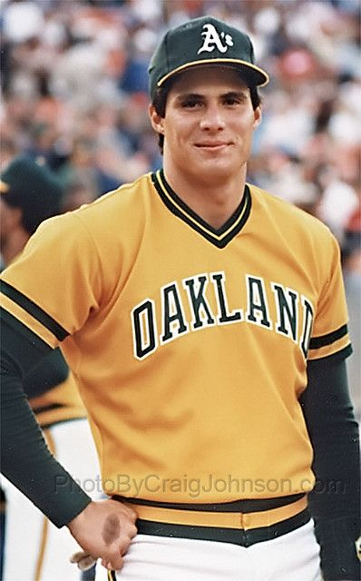 Jose Canseco Oakland A's
