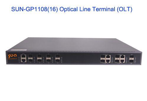 SUN-GP1108/16 Optical Line Terminal (OLT) - GPON Solutions - Sun Telecom-Fiber Optic Solutions Provider