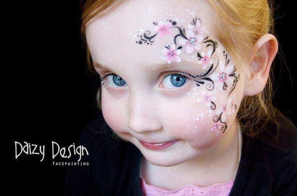 Как называются рисунки на лице?