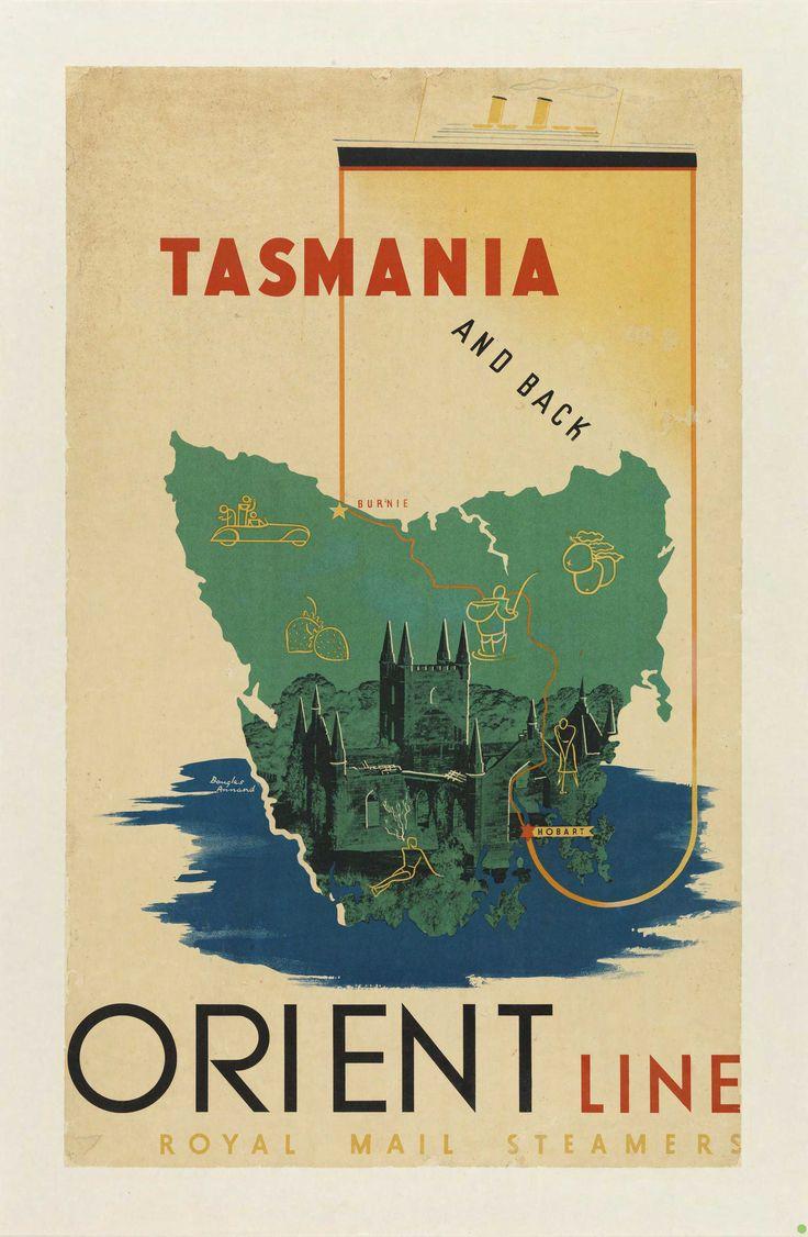Tasmania ~ Orient Line ~ Orient Steam Navigation Co.