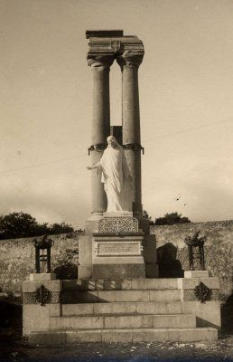 Monumento della Grande Guerra (I Guerra Mondiale) nel cimitero di Santo Spirito a Palermo, realizzato da Francesco Garufi | Foto ca. 1924