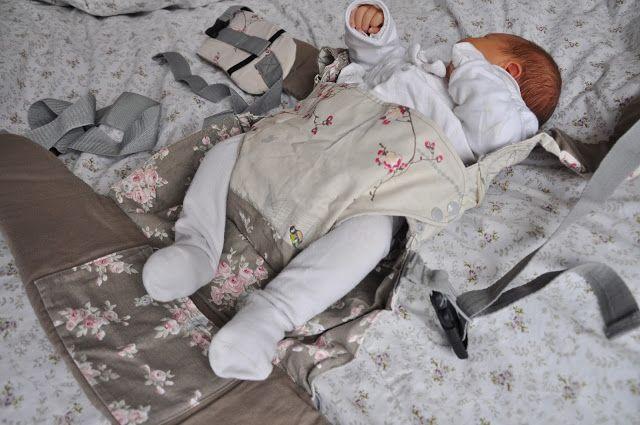 Šije to se mnou: Nosítko ala Manduca s novorozeneckou vložkou v akci