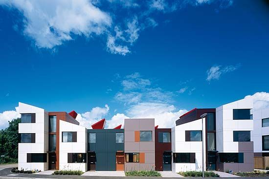 At home with the modern Goths: Richard Rogers, Graham Stirk and Ivan Harbour. - Hugh Pearman