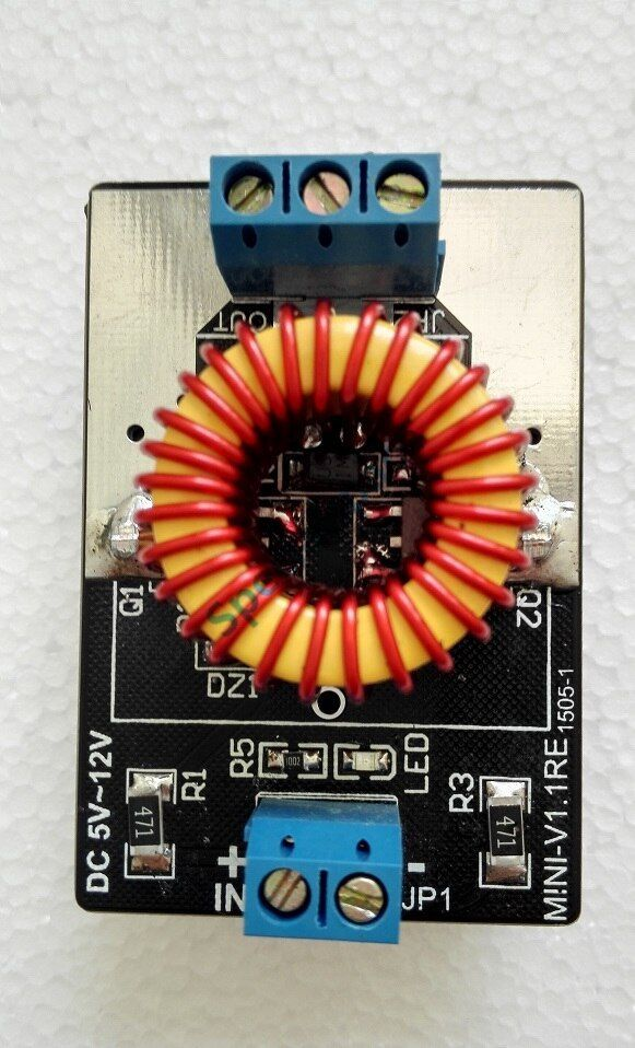 Mini Version Of Zvs Has Finished Induction Heating Tap Jacob Tesla