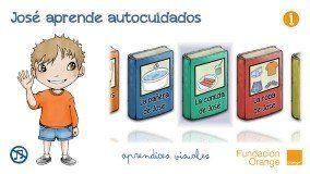 """""""José aprende"""", guía visual de autocuidados para niños"""