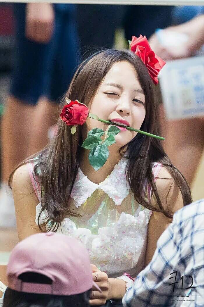 #Sejeong @Gangnam Fansign with Gugudan