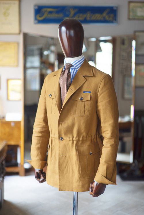 Menswear | Zaremba - Safari Jacket
