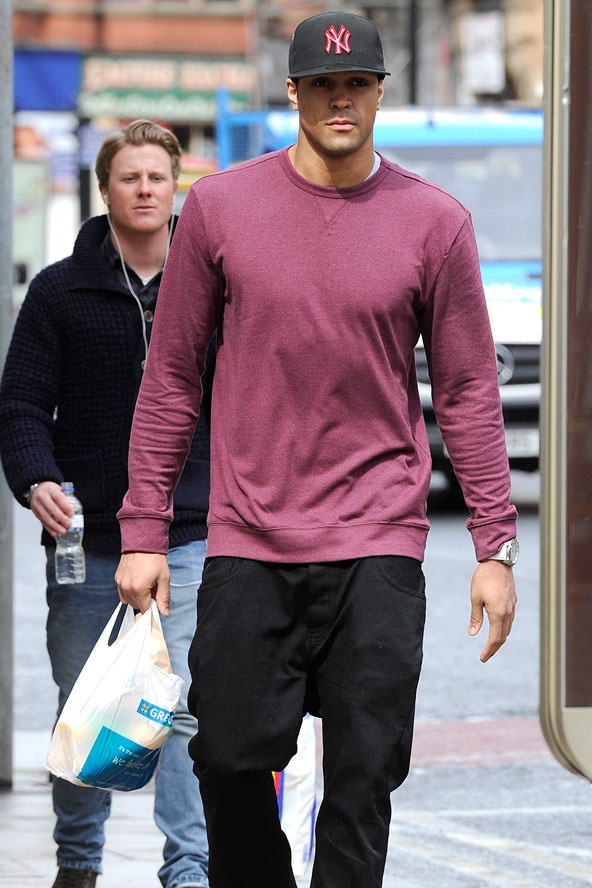 Ashley Banjo (carrying a Greggs!!) A guy that built his own empire, dreamt it, believed it, achieved it AND SMASHED IT- just blows me away. His principles are justified and he comes across as a genuine guy. I would love to have him in my social circle. (And he can dance! Hero!!!