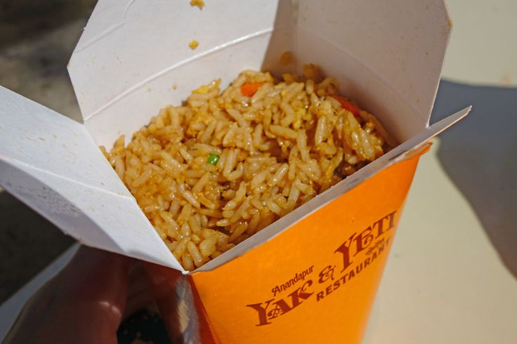 Day 143!! Snacks look awesome at #Disneyworld! And its always great to find a filling snack that won't cost the earth! The Chicken fried rice at Animal Kingdom's Yak and Yeti counter service looks yummy and only costs $3.99!