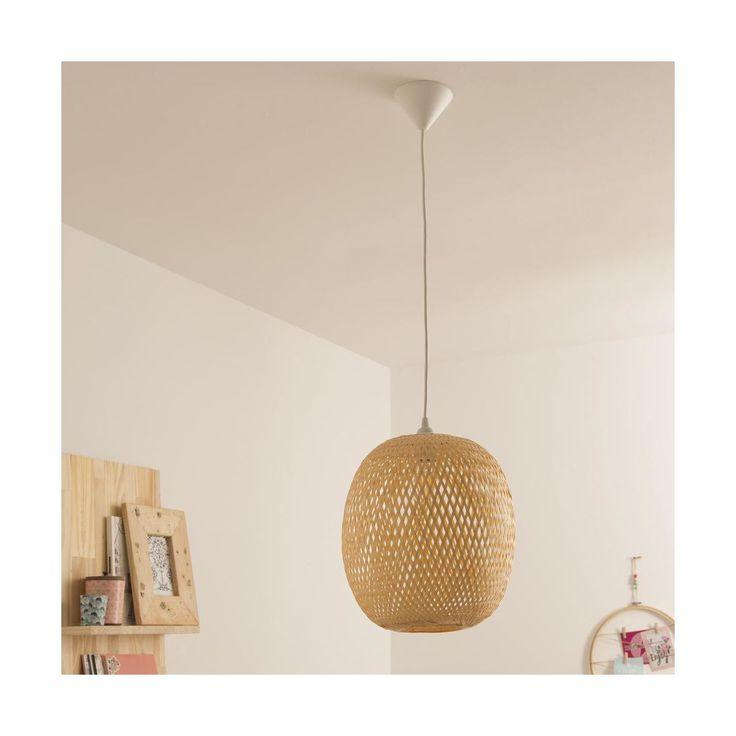 Leroy Merlin Inspire Ananas Lamp Bamboo Home Decor Ceiling Lights Decor