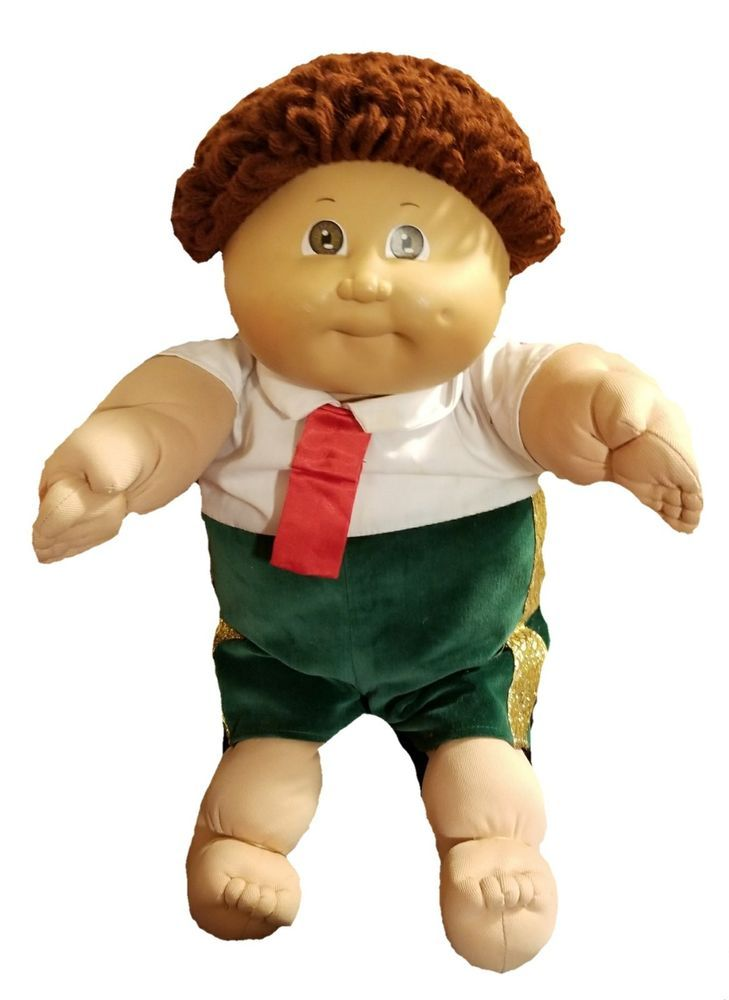 Vintage Cabbage Patch Kids Doll 1985 RARE Red Hair Brown Eyes #CabbagePatchKids