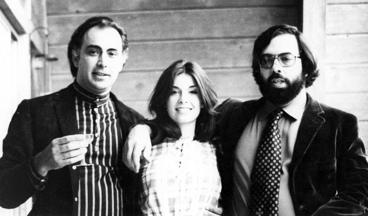 Photo of siblings August Coppola, Talia Shire and Francis Ford Coppola. Courtesy of American Zoetrope