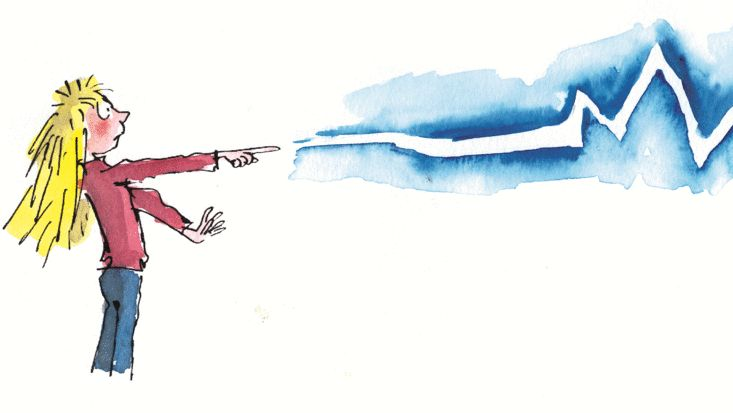 Roald Dahl's The Magic Finger, illustrated by Quentin Blake. Lesson plans available on the official Roald Dahl website.
