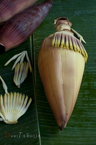 RP: Jantung Pisang - banana flower, a local dish