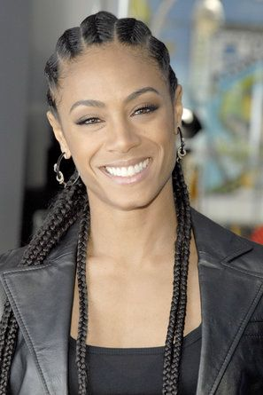 Jada Pinkett Smith   - For The Culture: 29 Celebs Slaying In Straight Back Cornrows