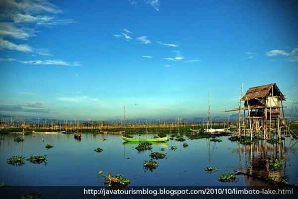 Danau Limboto (Limboto Lake), Gorontalo, Indonesia. My grandfather's hometown.