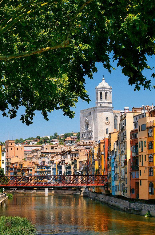 El Pont de Ferro de Girona, Spain