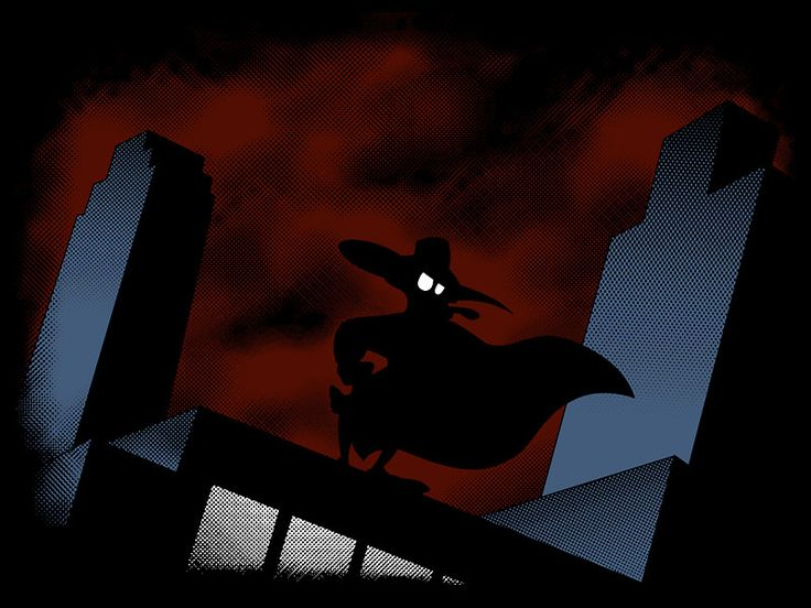 The Duck Knight - Darkwing Duck/Batman The Animated Series mashup ...