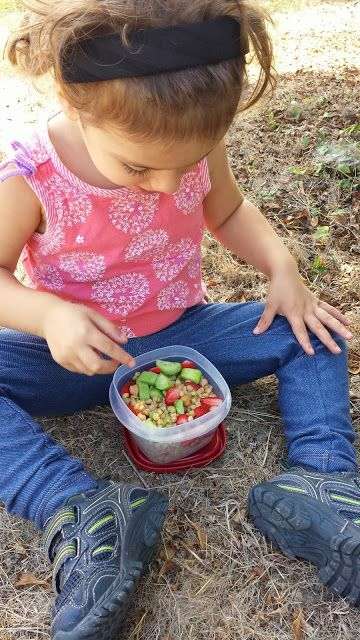 5 Healthy and Hearty Trail Meals For Toddlers - Mommy Hiker Guest Post for @Debi Gardner-Faver Huang - #1 Wheat Berry Salad   www.MommyHiker.com #OutdoorFamilies