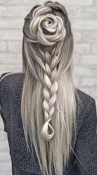 long style hair cuts 636 best images about braids on crown 7996 | 4ddb7996b5cf53d853a14974a7357519