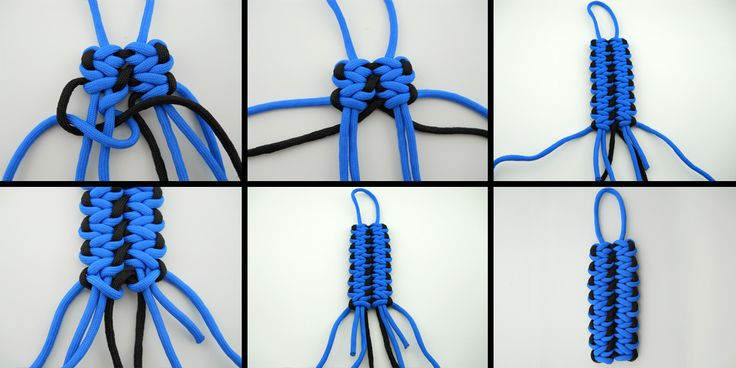 Unique Ropecraft: Tying the Wide Cobbled Solomon Bar