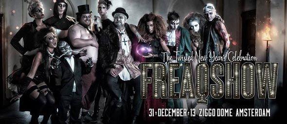 Freaqshow, het eindejaarsbal van Q-Dance, zal in alle gekkigheid het jaar 2013 afsluiten met een knal. De kaartverkoop begon gisteren (5 ok...