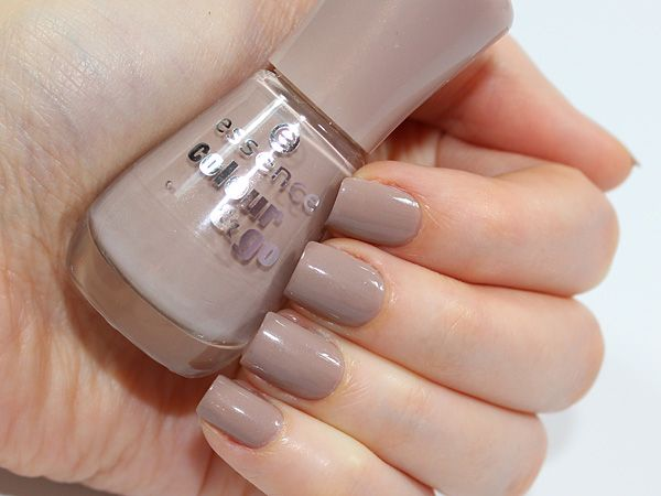 Essence nail polish Dare it nude
