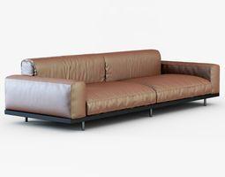 Sofa NAVIGLIO by Umberto Asnago 3D Model