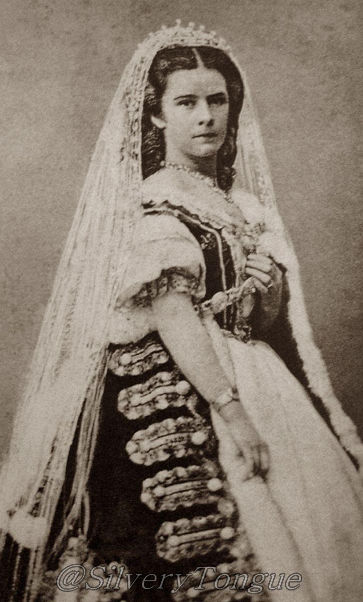 Sissi wearing Hungarian Style.