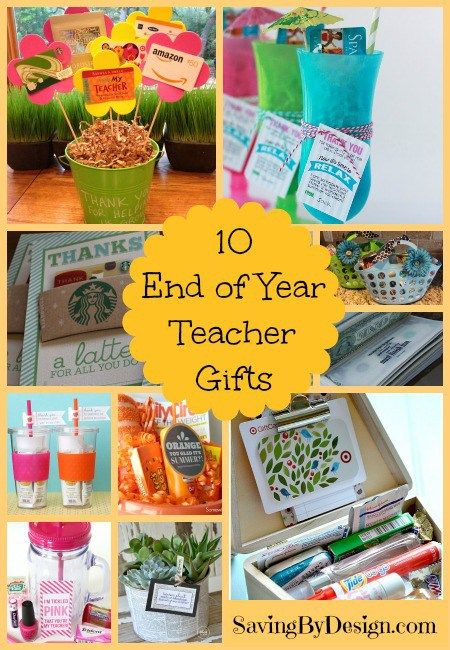 Need a gift for your favorite teacher? Here are 10 Fun End of Year Teacher Gifts They'll Love!