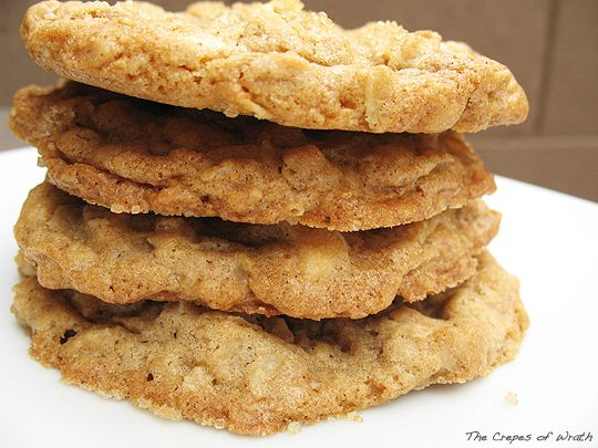 Toffee White Chocolate Chip Oatmeal Cookies. Made these and they are taaaaasty! :)