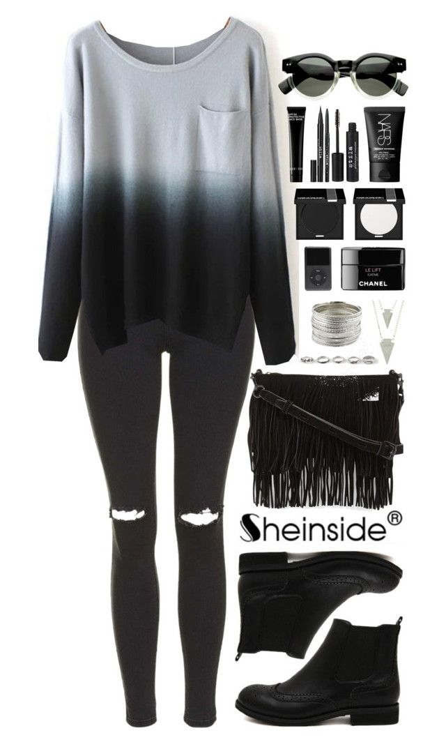 """""""SheIn 2"""" by scarlett-morwenna ❤ liked on Polyvore featuring Topshop, Rebecca Minkoff, Full Tilt, MAKE UP FOR EVER, NARS Cosmetics, Stila, Bobbi Brown Cosmetics and vintage"""