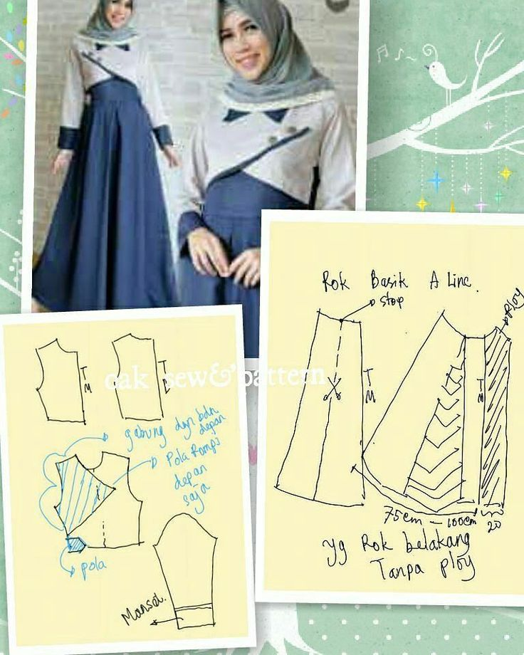 Pola dress/gamis. Silahkan share ke teman2mu   Sumber: opa #idemenjahit  #belajarmenjahit  #ideuntukjahitanmu  #idemenjahit_poladress #idemenjahit_polagamis #idemenjahit_pola #poladress #polagamis #sewingproject #ayomenjahit #ilovesewing #crafting #sewing #patterns #sewingtutorial #diy #doityourself #tailorindonesia