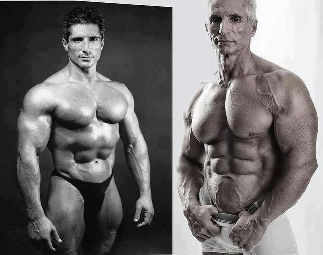 Old Bodybuilder – Then And Now Picture AWESOME KEEPING ...