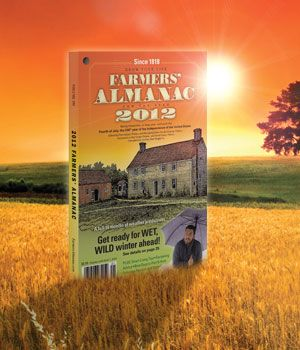Farmers' Almanac Gardening Calendar  invaluable for planting by the phases of the moon
