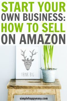 Starting your own business has never been easier. The internet gives us an unending supply of customers and business options! In this post you will learn the beginner's guide for how to sell on Amazon plus, some recommendations for tools and courses you can take to get your own business started! If you want to work from home to get more time together as a family then you need to check out this post and discover how you can make money selling products on Amazon.