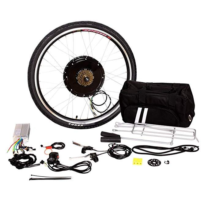 Tenive 26 Front Or Rear Wheel Electric Bicycle Conversion Kit