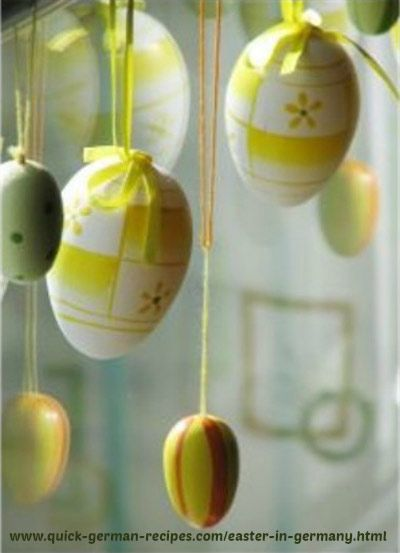 Celebrating Easter in Germany http://www.quick-german-recipes.com/easter-in-germany.html
