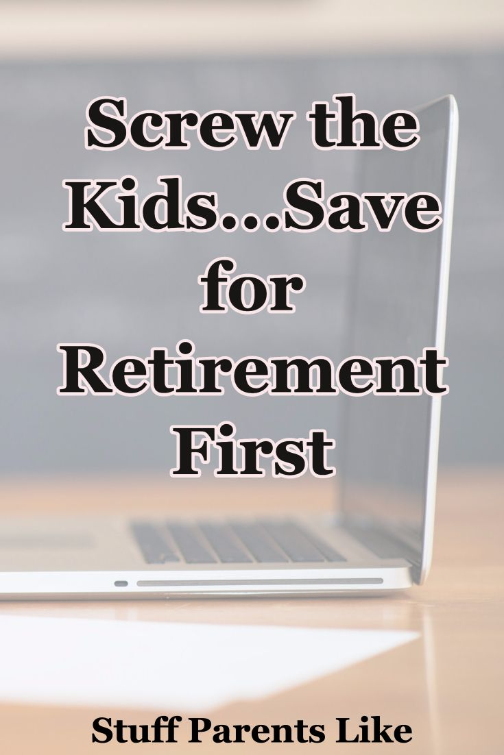 Your retirement is more important than saving for your children's education.  Find out why
