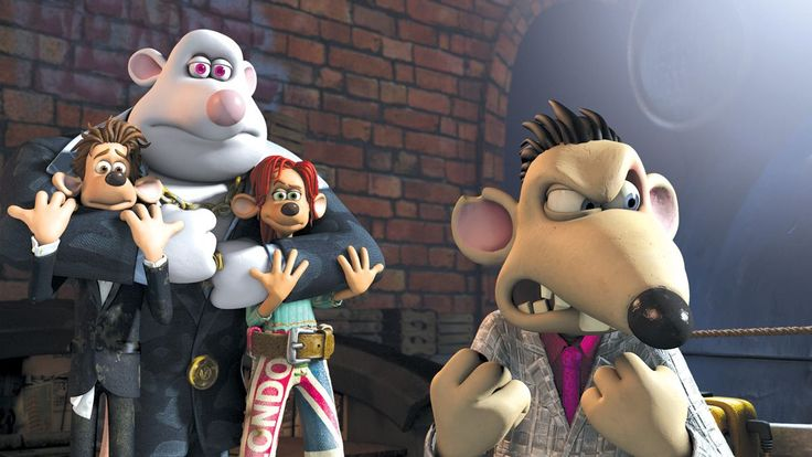 Like lots of films but Flushed Away is my fave feelgood film.